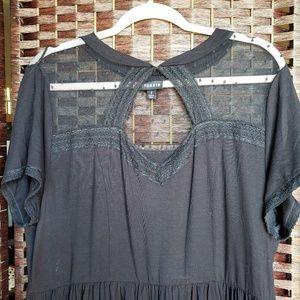 Torrid Black Lace Dress - Size 1